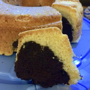 Marmorkuchen aus dem Omnia Backofen