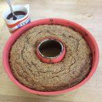 Dattel-Nuss-Kuchen direkt vom Grill