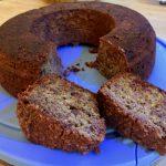 Dattel-Nuss-Kuchen mit dem Omnia gegrillt